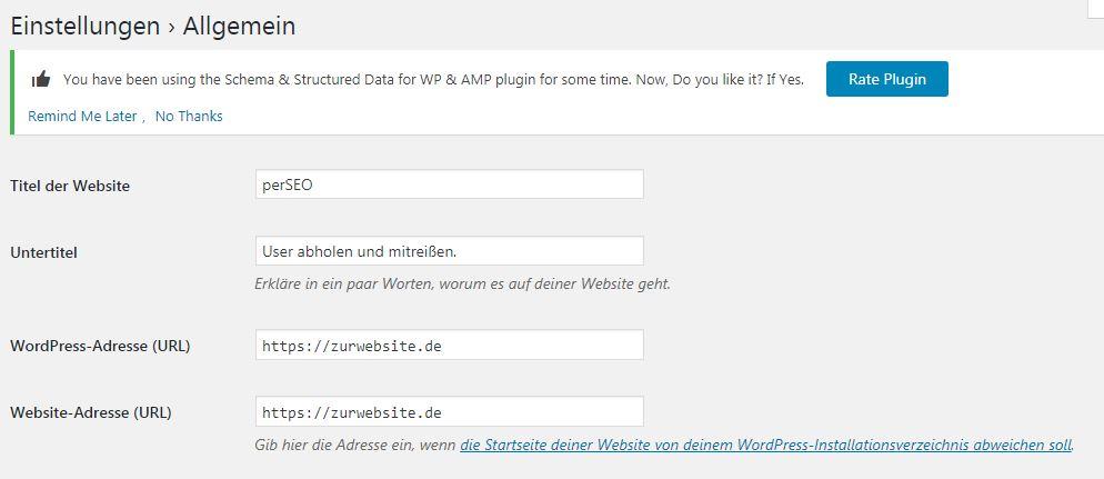 https in WordPress einstellen