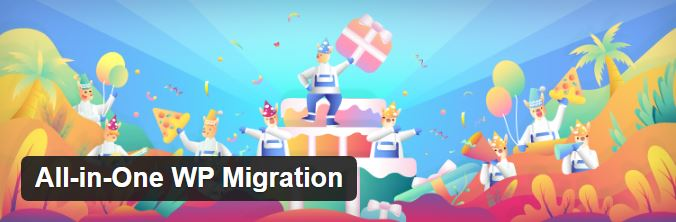 wp all in one migration