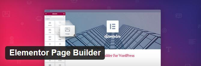 elementor pagebuilder plugin