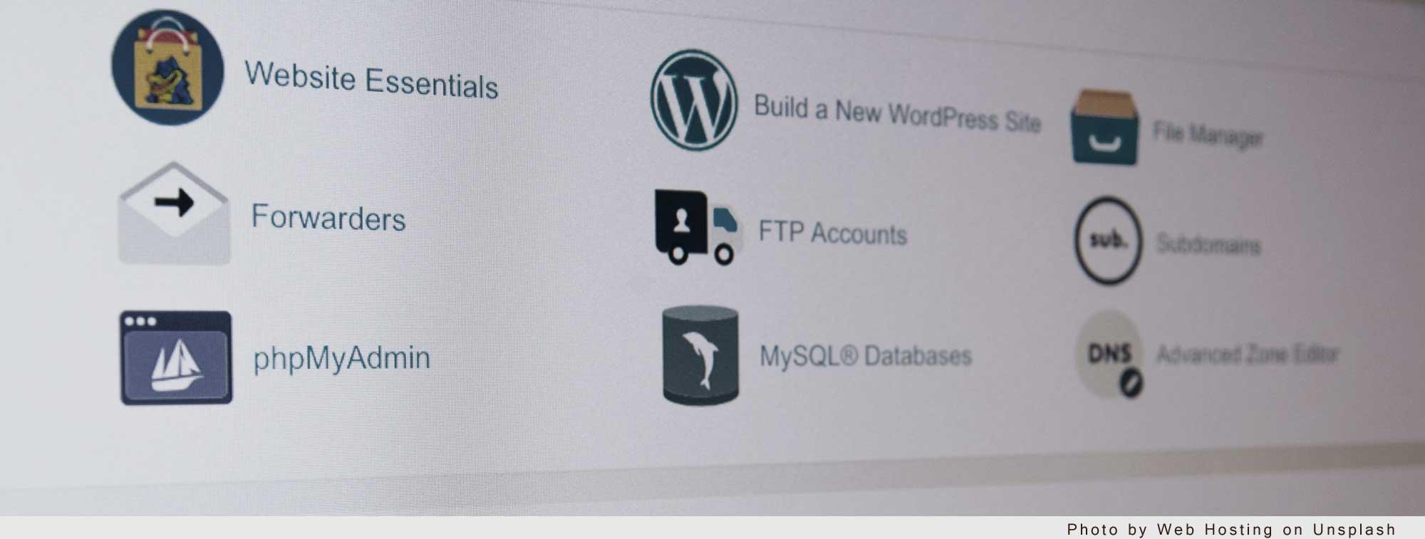 Webhosting unsplash