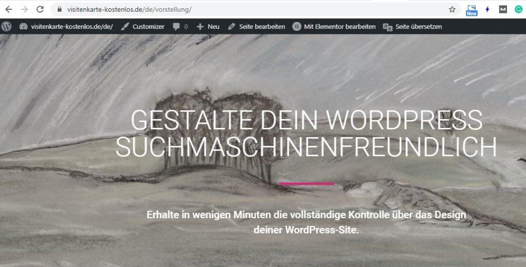 Translatepress mit Elementro kompatibel