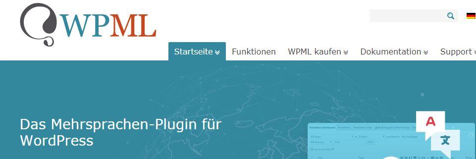 WPML WordPress Übersetzer
